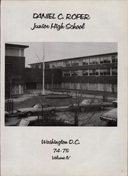 Page 5, 1975 Edition, Roper Middle School - Galaxy Yearbook (Washington, DC) online yearbook collection