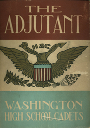 1930 Edition, Washington High School Cadets - Adjutant Yearbook (Washington, DC)