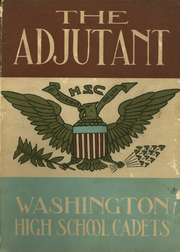 1931 Edition, Washington High School Cadets - Adjutant Yearbook (Washington, DC)