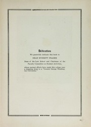 Page 11, 1917 Edition, George Washington University - Cherry Tree Yearbook (Washington, DC) online yearbook collection