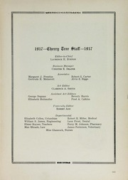 Page 15, 1917 Edition, George Washington University - Cherry Tree Yearbook (Washington, DC) online yearbook collection