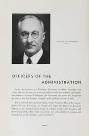 Page 16, 1937 Edition, George Washington University - Cherry Tree Yearbook (Washington, DC) online yearbook collection
