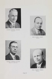 Page 17, 1937 Edition, George Washington University - Cherry Tree Yearbook (Washington, DC) online yearbook collection