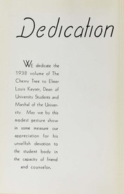 Page 10, 1938 Edition, George Washington University - Cherry Tree Yearbook (Washington, DC) online yearbook collection