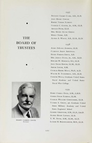 Page 16, 1938 Edition, George Washington University - Cherry Tree Yearbook (Washington, DC) online yearbook collection