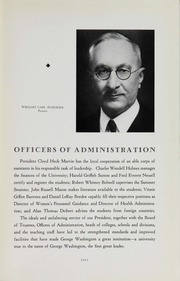 Page 17, 1938 Edition, George Washington University - Cherry Tree Yearbook (Washington, DC) online yearbook collection