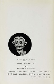 Page 6, 1938 Edition, George Washington University - Cherry Tree Yearbook (Washington, DC) online yearbook collection