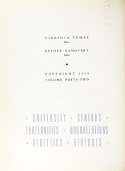 Page 8, 1939 Edition, George Washington University - Cherry Tree Yearbook (Washington, DC) online yearbook collection
