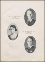 Page 13, 1921 Edition, Durant High School - Lion Yearbook (Durant, OK) online yearbook collection