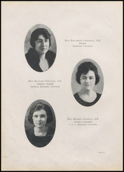 Page 14, 1921 Edition, Durant High School - Lion Yearbook (Durant, OK) online yearbook collection