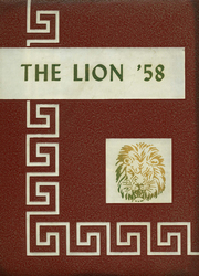 1958 Edition, Durant High School - Lion Yearbook (Durant, OK)