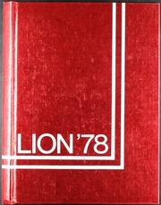 1978 Edition, Durant High School - Lion Yearbook (Durant, OK)