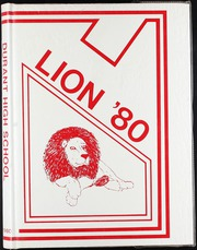 1980 Edition, Durant High School - Lion Yearbook (Durant, OK)