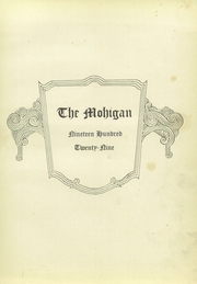 Page 5, 1929 Edition, Morgantown High School - Mohigan Yearbook (Morgantown, WV) online yearbook collection
