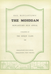 Page 7, 1929 Edition, Morgantown High School - Mohigan Yearbook (Morgantown, WV) online yearbook collection