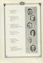 Page 15, 1926 Edition, Huntington High School - Huntingtonian Yearbook (Huntington, WV) online yearbook collection