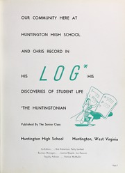 Page 11, 1943 Edition, Huntington High School - Huntingtonian Yearbook (Huntington, WV) online yearbook collection