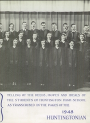 Page 7, 1948 Edition, Huntington High School - Huntingtonian Yearbook (Huntington, WV) online yearbook collection