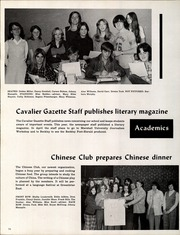 Page 78, 1975 Edition, Greenbrier West High School - Cavalier Yearbook (Charmco, WV) online yearbook collection