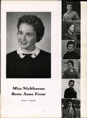 Page 11, 1960 Edition, Nicholas County High School - Nichlosean Yearbook (Summersville, WV) online yearbook collection