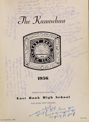 Page 5, 1956 Edition, East Bank High School - Kanawhan Yearbook (East Bank, WV) online yearbook collection