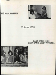 Page 7, 1978 Edition, East Bank High School - Kanawhan Yearbook (East Bank, WV) online yearbook collection