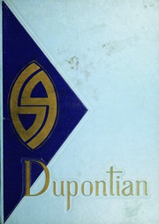 1969 Edition, DuPont High School - DuPontian Yearbook (Belle, WV)