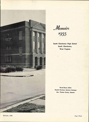 Page 9, 1955 Edition, South Charleston High School - Memoirs Yearbook (South Charleston, WV) online yearbook collection