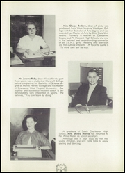 Page 13, 1956 Edition, South Charleston High School - Memoirs Yearbook (South Charleston, WV) online yearbook collection