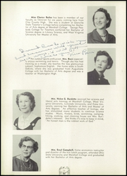 Page 14, 1956 Edition, South Charleston High School - Memoirs Yearbook (South Charleston, WV) online yearbook collection