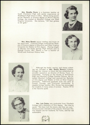 Page 16, 1956 Edition, South Charleston High School - Memoirs Yearbook (South Charleston, WV) online yearbook collection