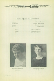 Page 16, 1925 Edition, Parkersburg High School - Parhischan Yearbook (Parkersburg, WV) online yearbook collection