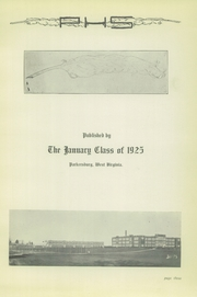 Page 5, 1925 Edition, Parkersburg High School - Parhischan Yearbook (Parkersburg, WV) online yearbook collection