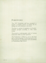 Page 6, 1937 Edition, Parkersburg High School - Parhischan Yearbook (Parkersburg, WV) online yearbook collection