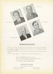 Page 16, 1950 Edition, Parkersburg High School - Parhischan Yearbook (Parkersburg, WV) online yearbook collection