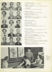Page 12, 1953 Edition, Parkersburg High School - Parhischan Yearbook (Parkersburg, WV) online yearbook collection