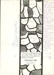 Page 5, 1969 Edition, Parkersburg High School - Parhischan Yearbook (Parkersburg, WV) online yearbook collection