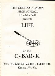 Page 5, 1958 Edition, Ceredo Kenova High School - Heraldus Yearbook (Kenova, WV) online yearbook collection