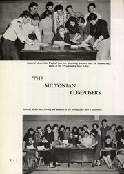 Page 12, 1957 Edition, Milton High School - Miltonian Yearbook (Milton, WV) online yearbook collection
