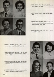 Page 14, 1957 Edition, Milton High School - Miltonian Yearbook (Milton, WV) online yearbook collection