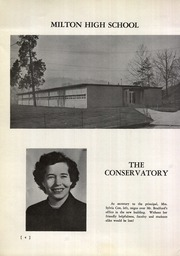 Page 8, 1957 Edition, Milton High School - Miltonian Yearbook (Milton, WV) online yearbook collection