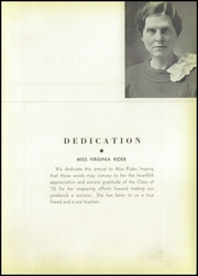 Page 7, 1935 Edition, Elkins High School - Tiger Yearbook (Elkins, WV) online yearbook collection