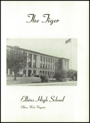 Page 9, 1950 Edition, Elkins High School - Tiger Yearbook (Elkins, WV) online yearbook collection