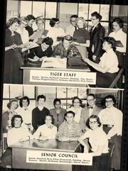 Page 17, 1956 Edition, Elkins High School - Tiger Yearbook (Elkins, WV) online yearbook collection