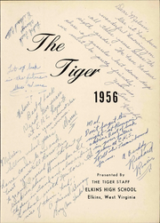 Page 7, 1956 Edition, Elkins High School - Tiger Yearbook (Elkins, WV) online yearbook collection
