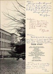 Page 9, 1956 Edition, Elkins High School - Tiger Yearbook (Elkins, WV) online yearbook collection