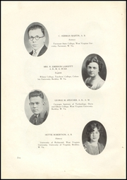 Page 14, 1928 Edition, Woodrow Wilson High School - Echo Yearbook (Beckley, WV) online yearbook collection
