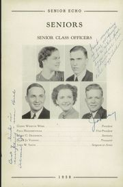 Page 12, 1938 Edition, Woodrow Wilson High School - Echo Yearbook (Beckley, WV) online yearbook collection