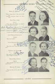 Page 13, 1938 Edition, Woodrow Wilson High School - Echo Yearbook (Beckley, WV) online yearbook collection