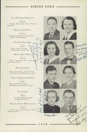 Page 15, 1938 Edition, Woodrow Wilson High School - Echo Yearbook (Beckley, WV) online yearbook collection